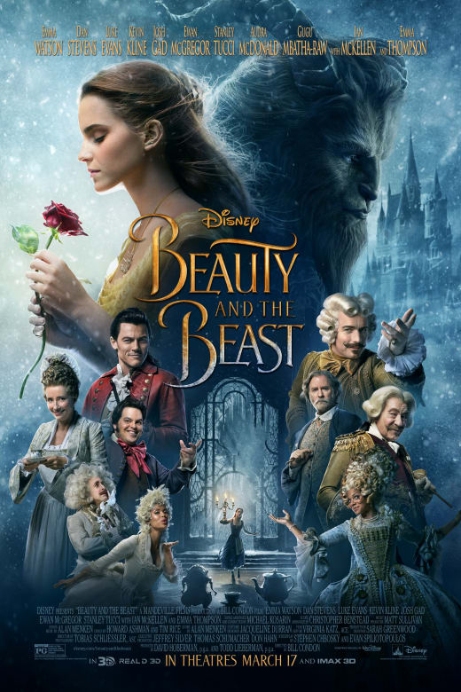 Beauty And The Beast Movie Trailer Info More Fashion Square Mall