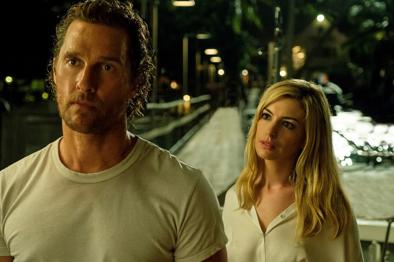 Matthew McConaughey and Anne Hathaway star in 'Serenity'