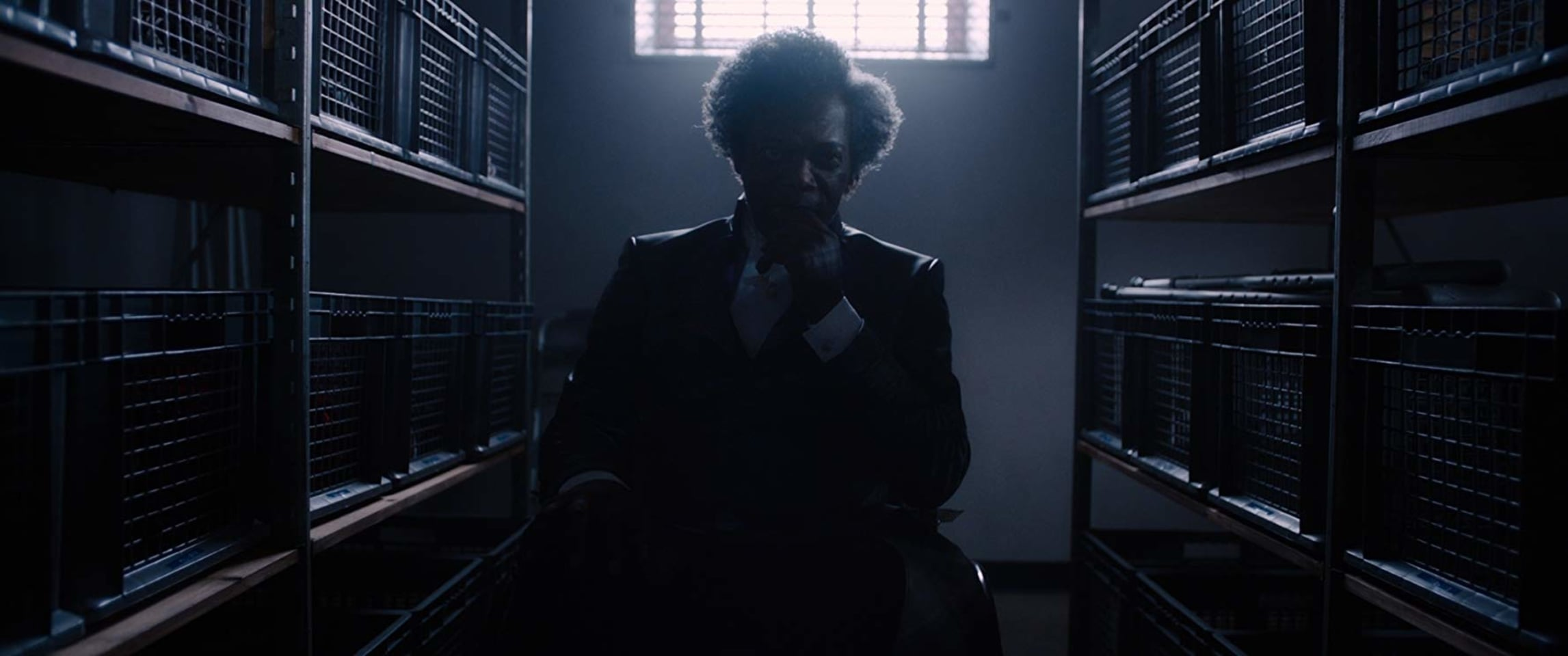 Samuel L. Jackson as Mr. Glass in 'Glass'