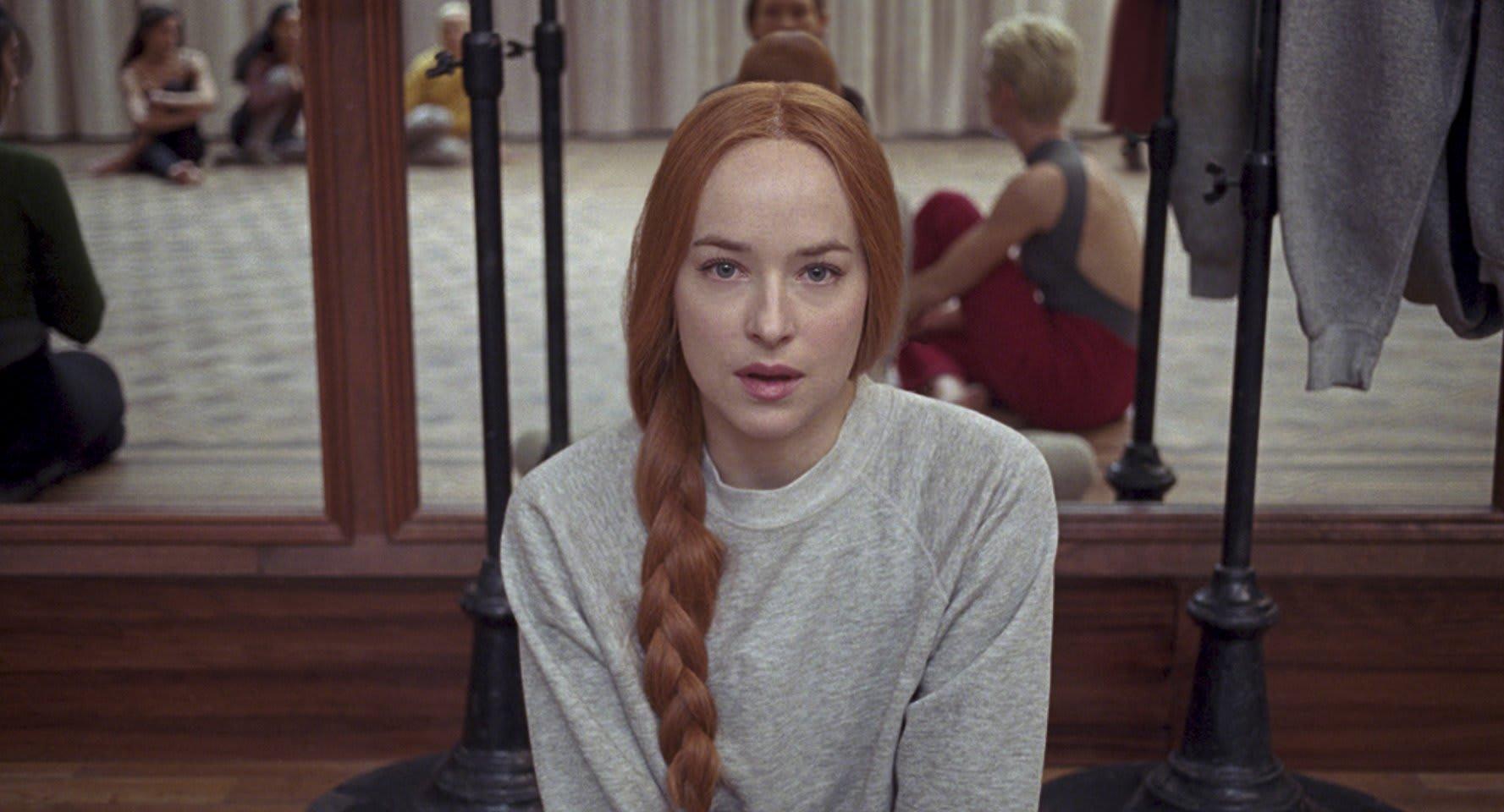 Dakota Johnson plays dancer Susie Bannion in 'Suspiria'