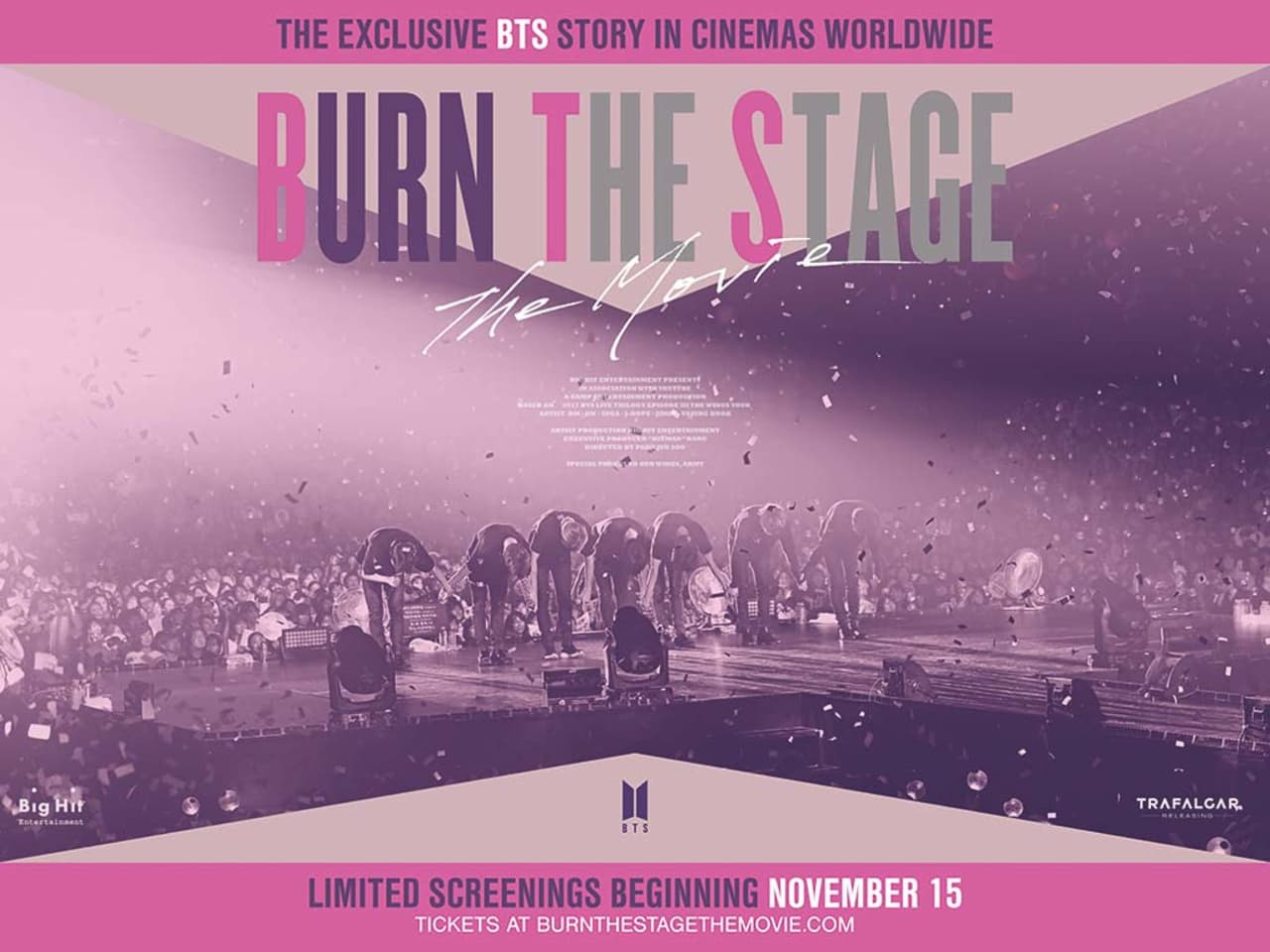 Burn the Stage: The Movie Tickets, Showtimes & Reviews