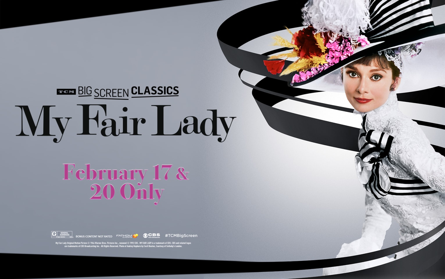 My Fair Lady 55th Anniversary (1964) presented by TCM Poster 1