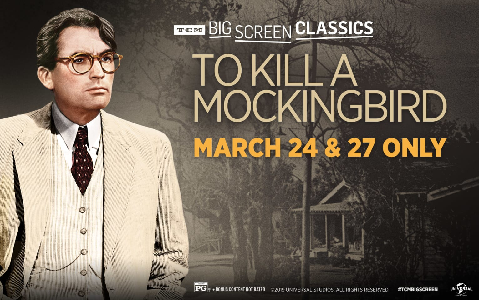 To Kill A Mockingbird (1962) presented by TCM Poster 1