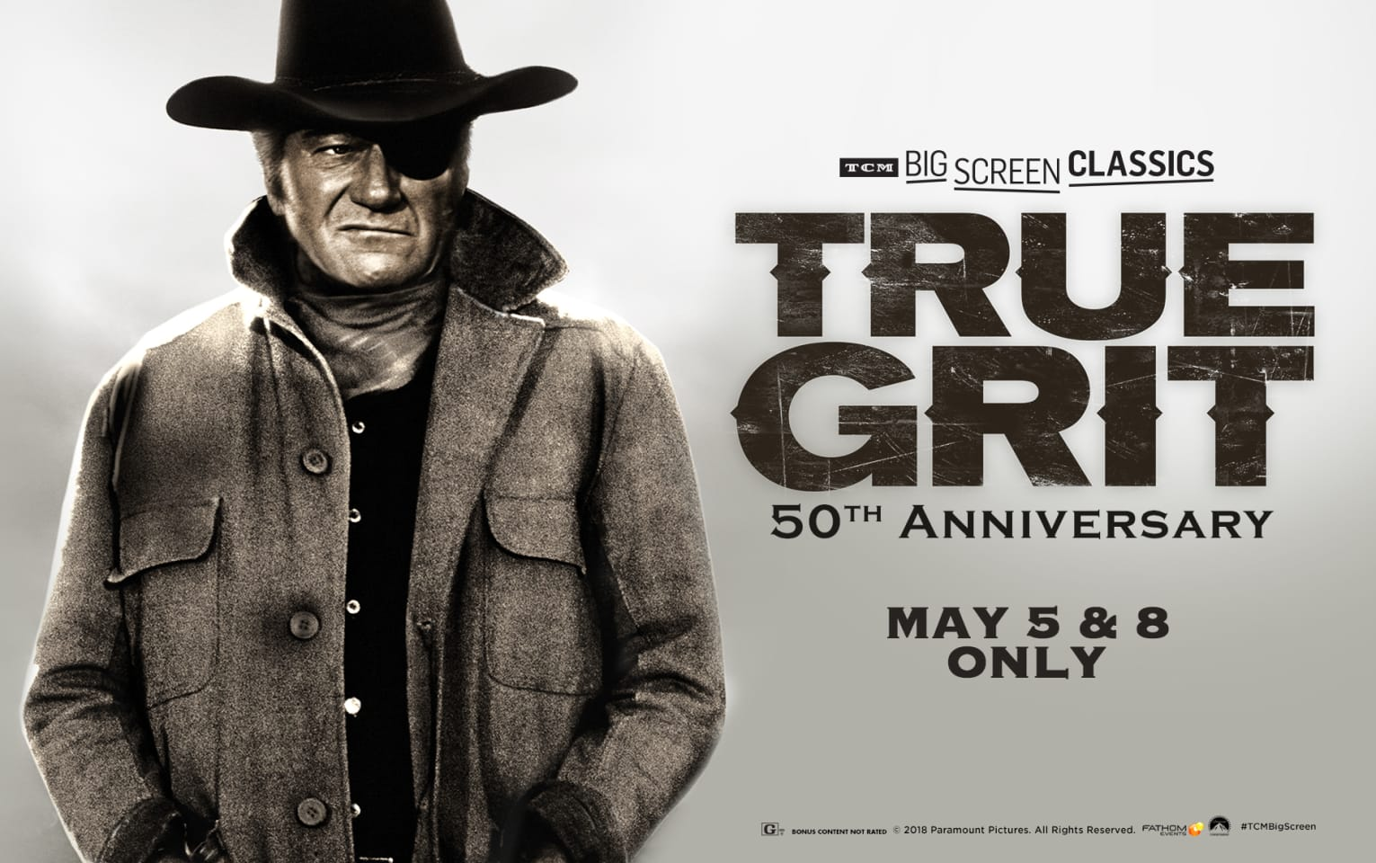 True Grit 50th Anniversary (1969) presented by TCM Poster 1