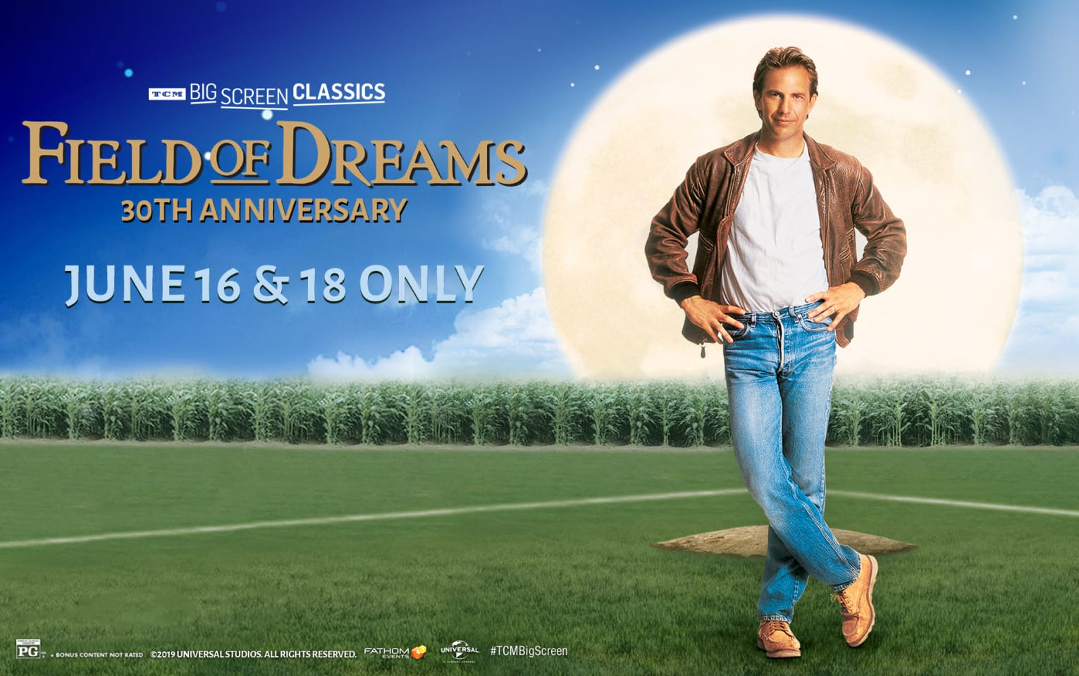 Field of Dreams 30th Anniversary (1989) presented by TCM Poster 1