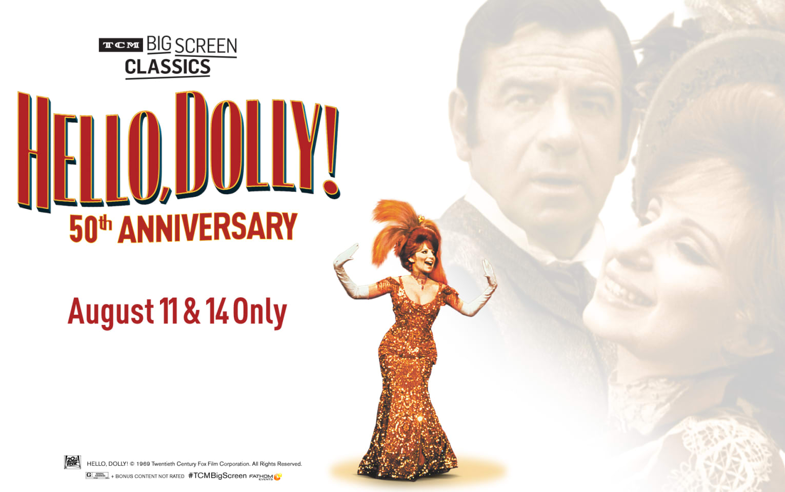 Hello, Dolly! 50th Anniversary (1969) presented by TCM Poster 1