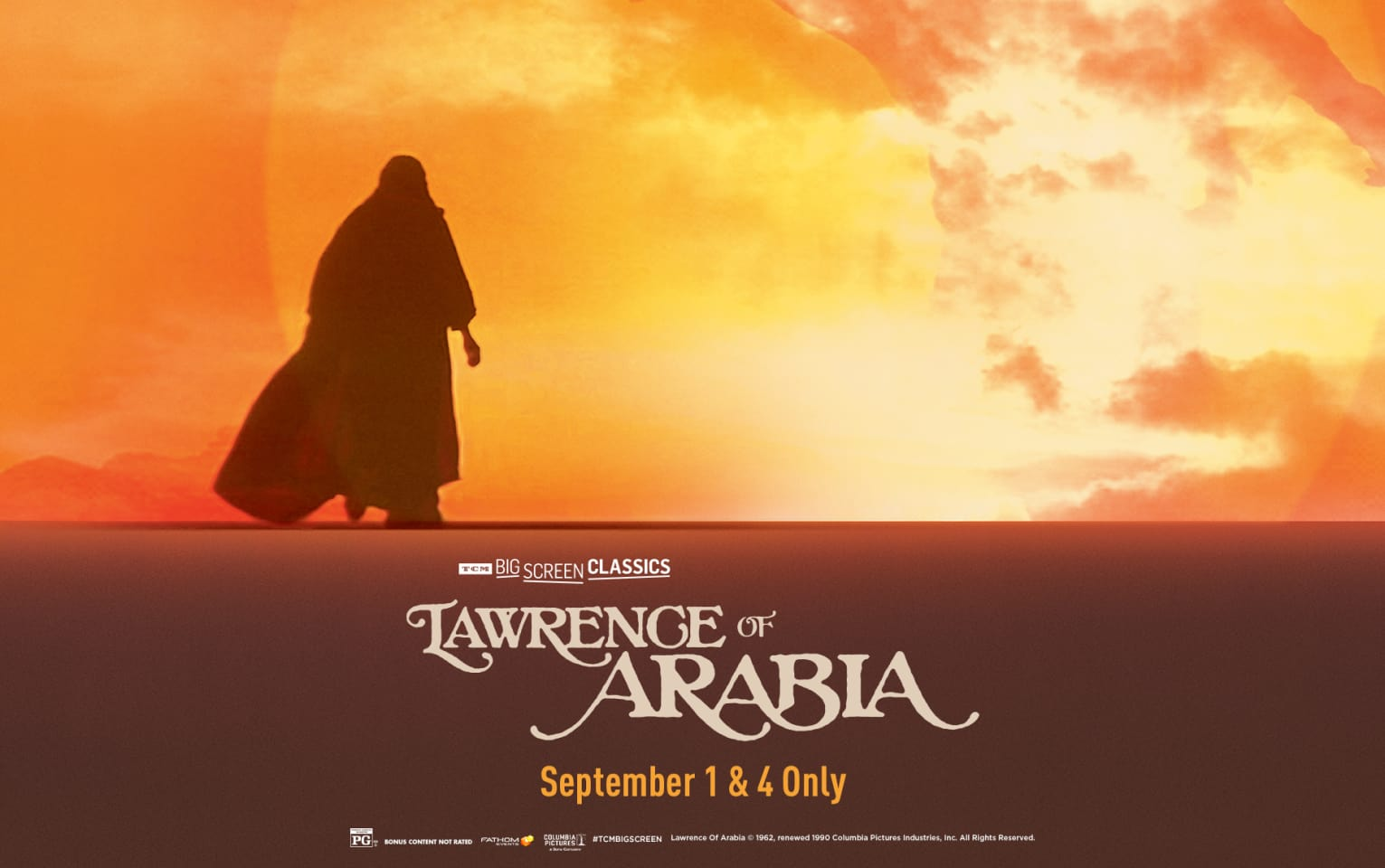 Lawrence of Arabia (1962) presented by TCM Poster 1