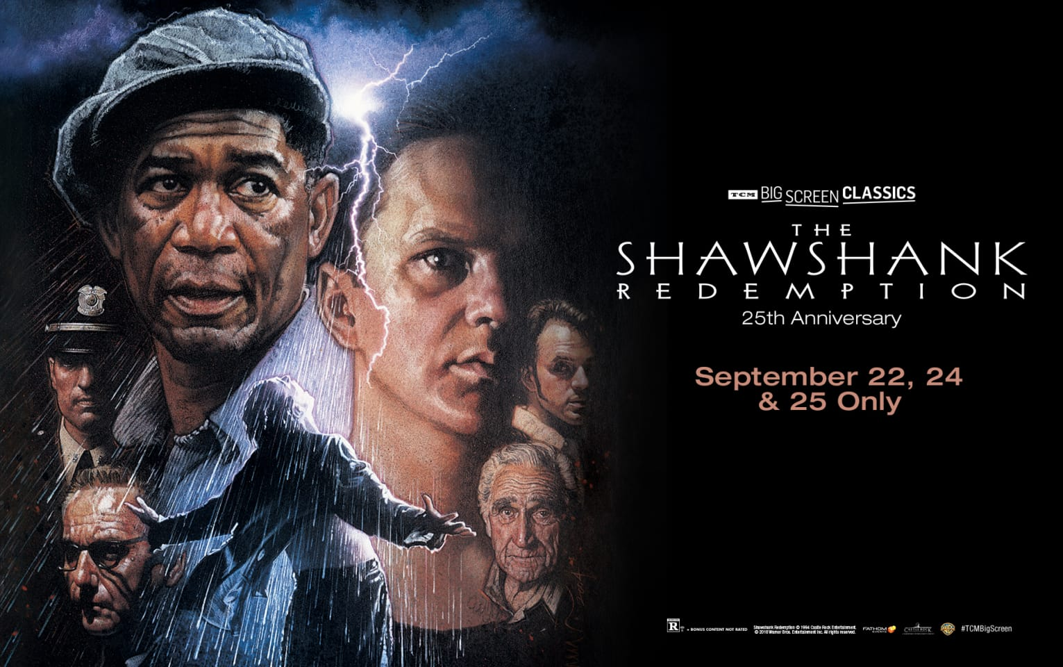 The Shawshank Redemption 25th Anniversary (1994) presented by TCM Poster 1