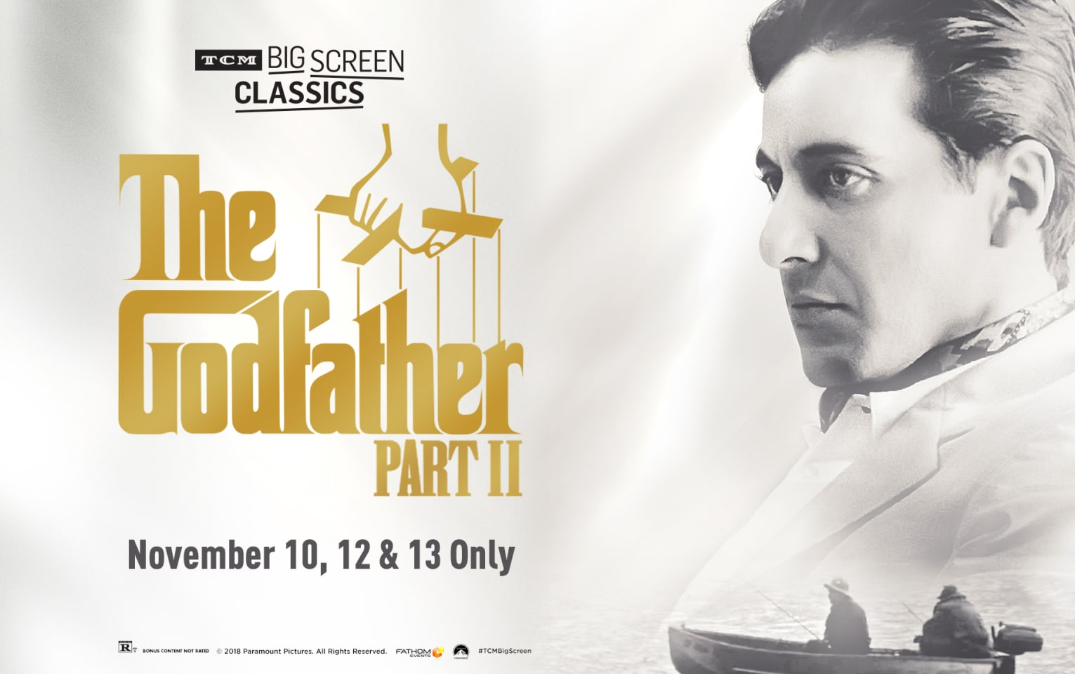 The Godfather: Part II 45th Anniversary (1974) presented by TCM Poster 1