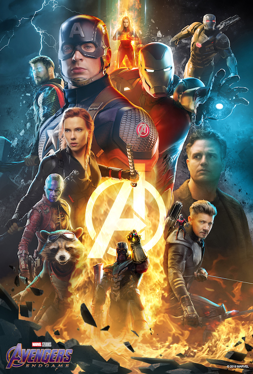 bosslogic avengers endgame poster