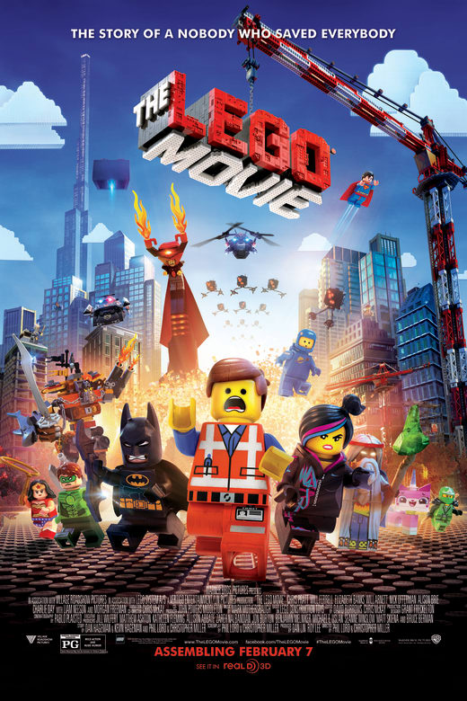 The Lego Movie Poster 0
