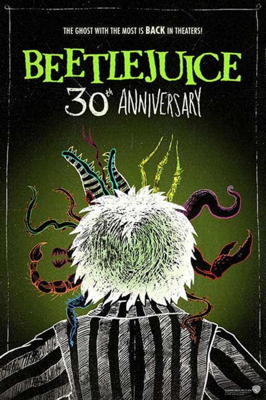 Beetlejuice 30th Anniversary - Movie Tickets on Sale