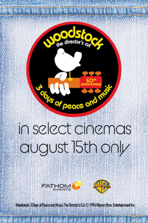 WOODSTOCK (1970) 50th Anniversary Director's Cut Trailer