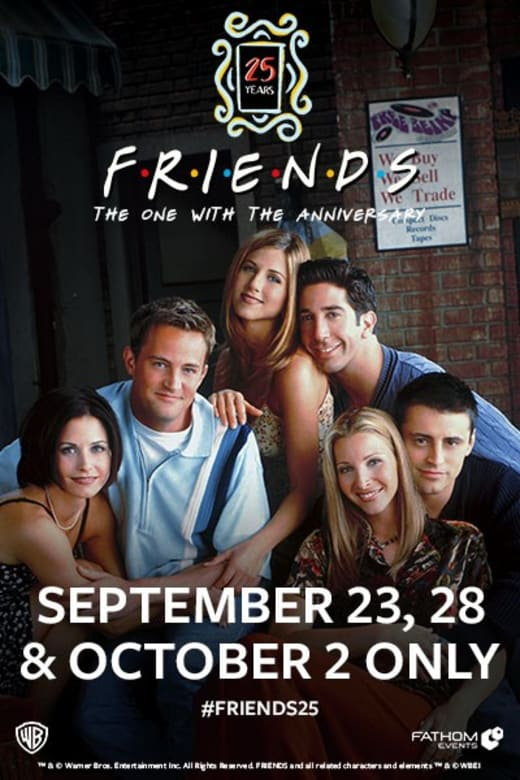 Friends 25th: The One With The Anniversary Trailer