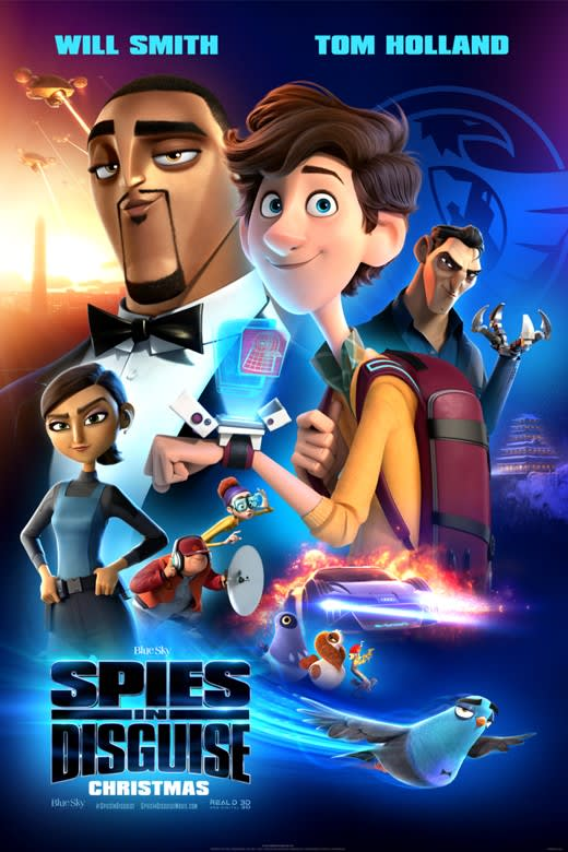Spies In Disguise Showtimes Tickets Reviews Atom Tickets